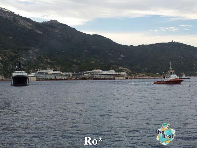 Liveboat in Diretta dall'Isola del Giglio e arrivo a Genova-13-foto-isola-giglio-rimozione-costa-concordia-diretta-liveboat-crociere-jpg