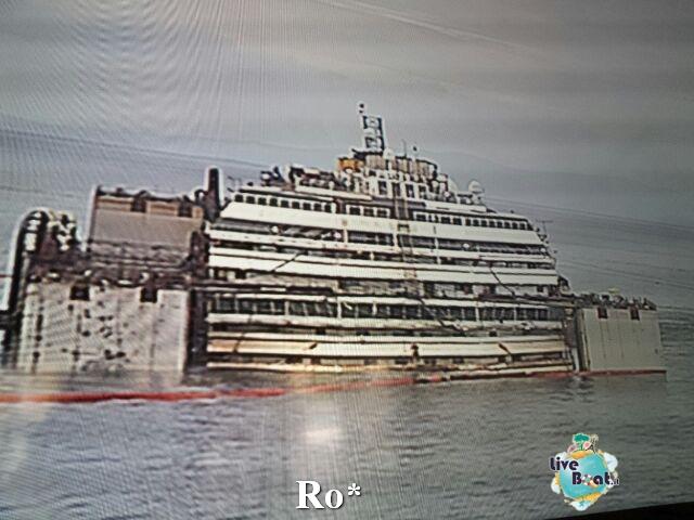 Liveboat in Diretta dall'Isola del Giglio e arrivo a Genova-25-foto-isola-giglio-rimozione-costa-concordia-diretta-liveboat-crociere-jpg