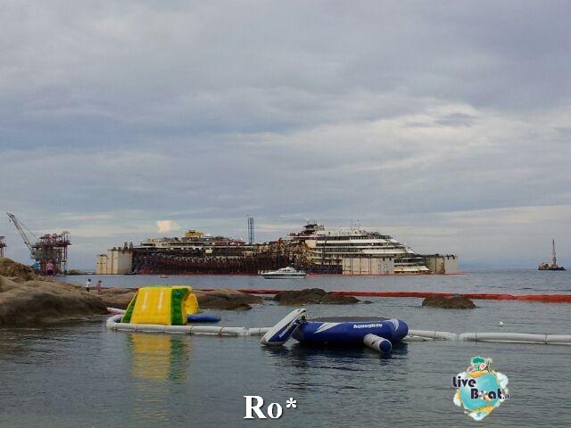 Liveboat in Diretta dall'Isola del Giglio e arrivo a Genova-5-foto-isola-giglio-rimozione-costa-concordia-diretta-liveboat-crociere-jpg