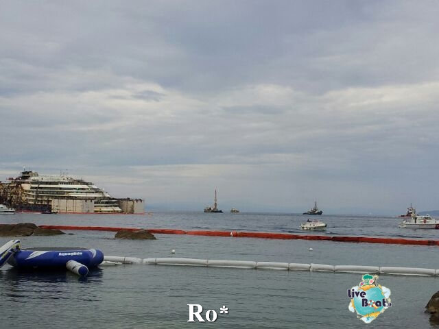 Liveboat in Diretta dall'Isola del Giglio e arrivo a Genova-7-foto-isola-giglio-rimozione-costa-concordia-diretta-liveboat-crociere-jpg