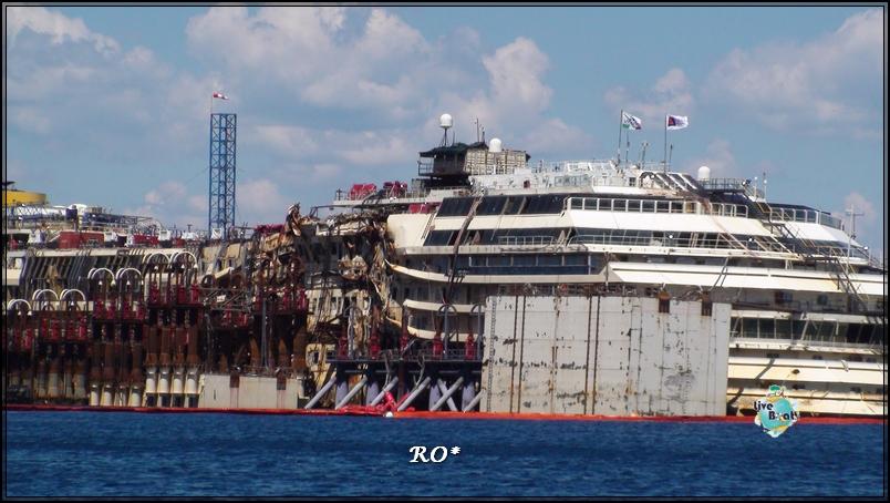 Liveboat in Diretta dall'Isola del Giglio e arrivo a Genova-6foto-costaconcordia-isoladelgiglio-operazioni-rigalleggiamento-jpg