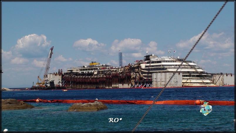 Liveboat in Diretta dall'Isola del Giglio e arrivo a Genova-14foto-costaconcordia-isoladelgiglio-operazioni-rigalleggiamento-jpg