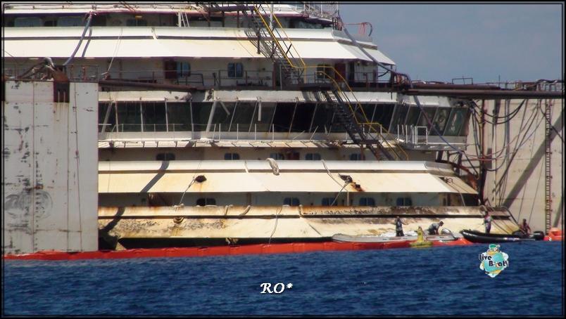 Liveboat in Diretta dall'Isola del Giglio e arrivo a Genova-28foto-costaconcordia-isoladelgiglio-operazioni-rigalleggiamento-jpg