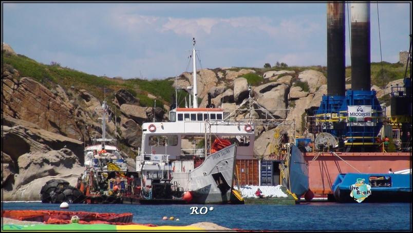 Liveboat in Diretta dall'Isola del Giglio e arrivo a Genova-34foto-costaconcordia-isoladelgiglio-operazioni-rigalleggiamento-jpg