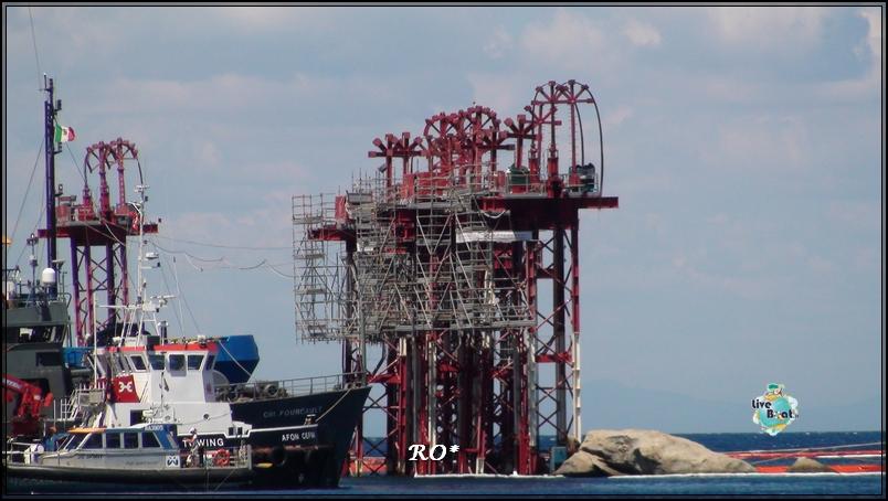 Liveboat in Diretta dall'Isola del Giglio e arrivo a Genova-36foto-costaconcordia-isoladelgiglio-operazioni-rigalleggiamento-jpg