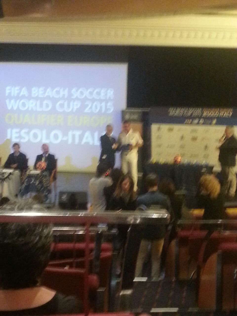 18/7/14 MSC Armonia -  Evento Fifa Beach soccer world cup-diretta-liveboat-msc-armonia-fifa-event-9-jpg