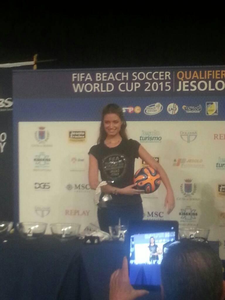 18/7/14 MSC Armonia -  Evento Fifa Beach soccer world cup-uploadfromtaptalk1405680525091-jpg