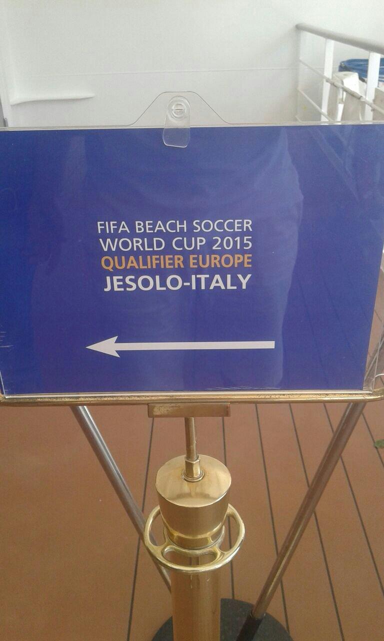 18/7/14 MSC Armonia -  Evento Fifa Beach soccer world cup-uploadfromtaptalk1405680574963-jpg