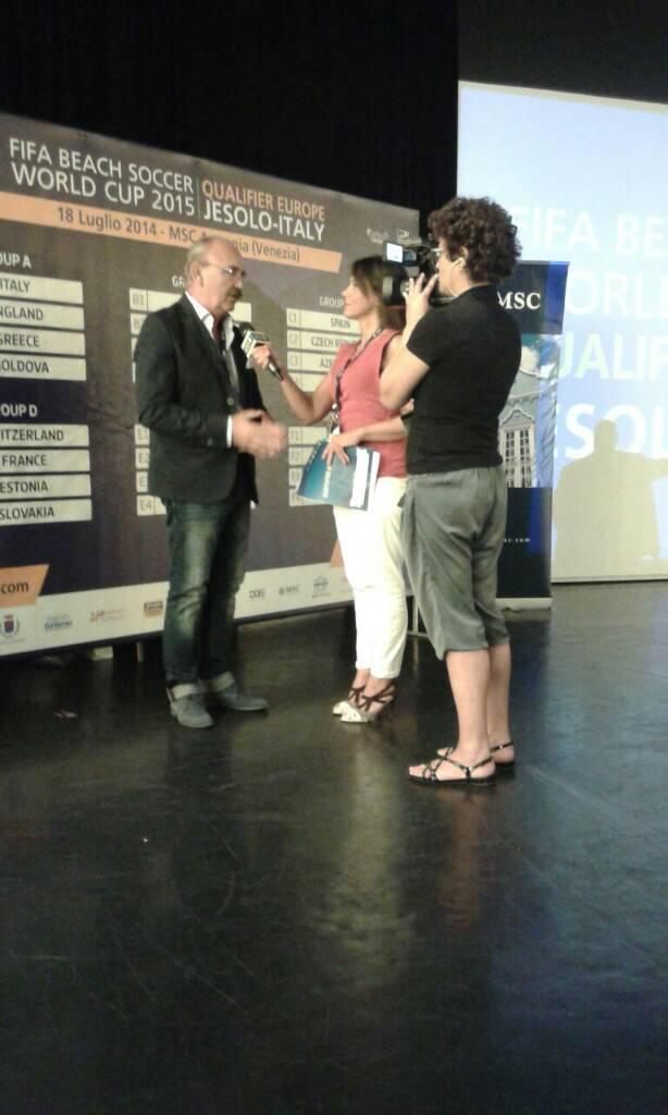 18/7/14 MSC Armonia -  Evento Fifa Beach soccer world cup-uploadfromtaptalk1405680615754-jpg