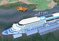 Liveboat in Diretta dall'Isola del Giglio e arrivo a Genova-parbuckling-jpg