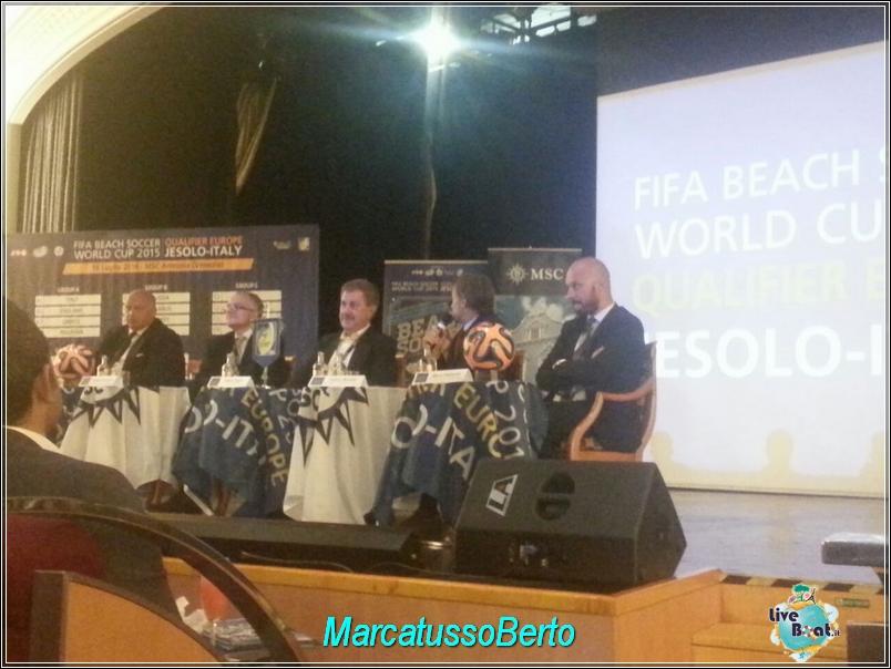 18/7/14 MSC Armonia -  Evento Fifa Beach soccer world cup-foto-direttaliveboat-mscarmonia-fifa-event-1-jpg