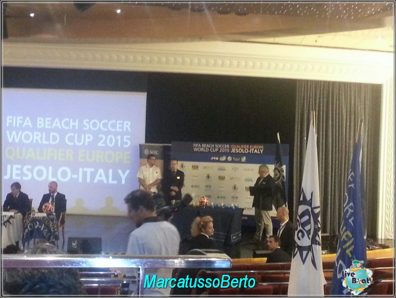 18/7/14 MSC Armonia -  Evento Fifa Beach soccer world cup-foto-direttaliveboat-mscarmonia-fifa-event-2-jpg