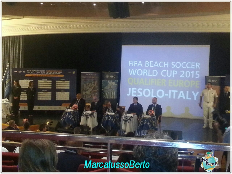 18/7/14 MSC Armonia -  Evento Fifa Beach soccer world cup-foto-direttaliveboat-mscarmonia-fifa-event-3-jpg
