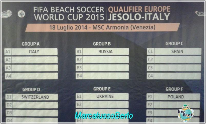 18/7/14 MSC Armonia -  Evento Fifa Beach soccer world cup-foto-direttaliveboat-mscarmonia-fifa-event-19-jpg