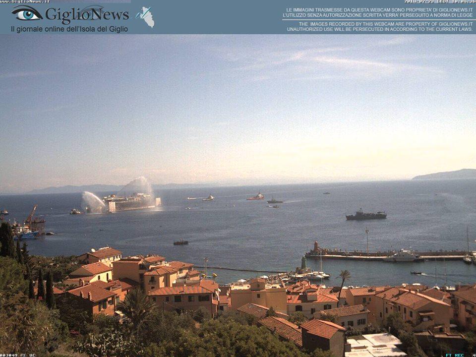 Liveboat in Diretta dall'Isola del Giglio e arrivo a Genova-costa-concordia-riparte-isola-giglio-1-jpg