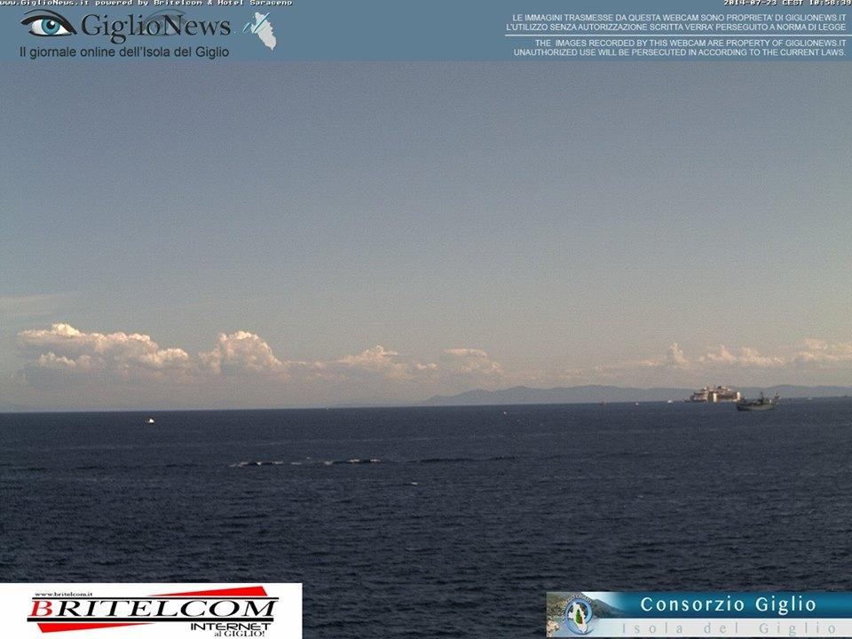 Liveboat in Diretta dall'Isola del Giglio e arrivo a Genova-costa-concordia-riparte-isola-giglio-8-jpg