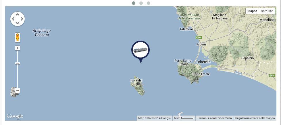 Liveboat in Diretta dall'Isola del Giglio e arrivo a Genova-tragitto-concordia-jpg