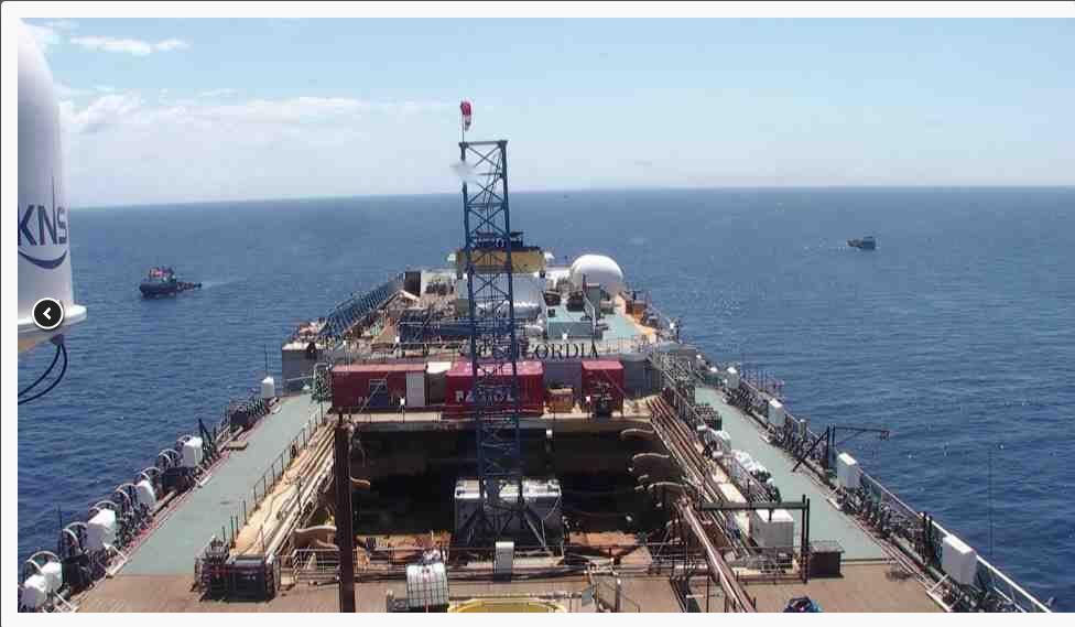 Liveboat in Diretta dall'Isola del Giglio e arrivo a Genova-costa-concordia-viaggio-jpg