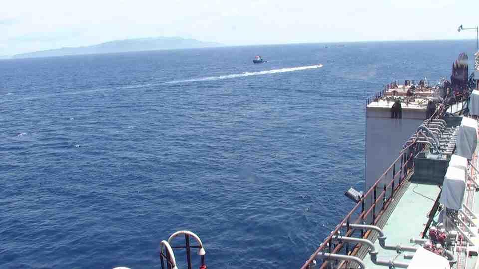 Liveboat in Diretta dall'Isola del Giglio e arrivo a Genova-diretta-costa-concordia-parbuckling-jpg