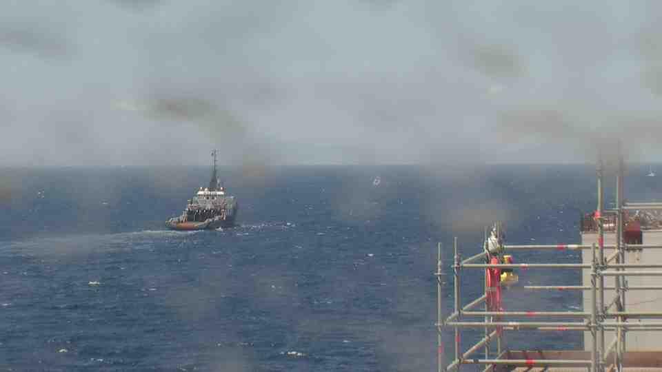 Liveboat in Diretta dall'Isola del Giglio e arrivo a Genova-continua-viaggio-costa-concordia-jpg