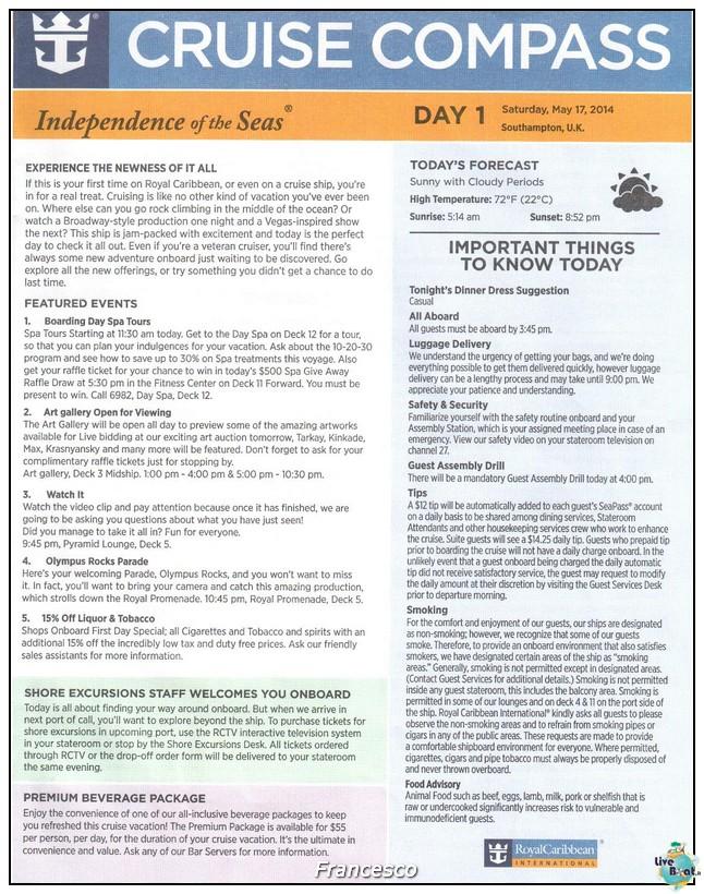 2014/05/17 Southampton -Independence OTS-8 GG. Norvegia  Fio-compass-jpg