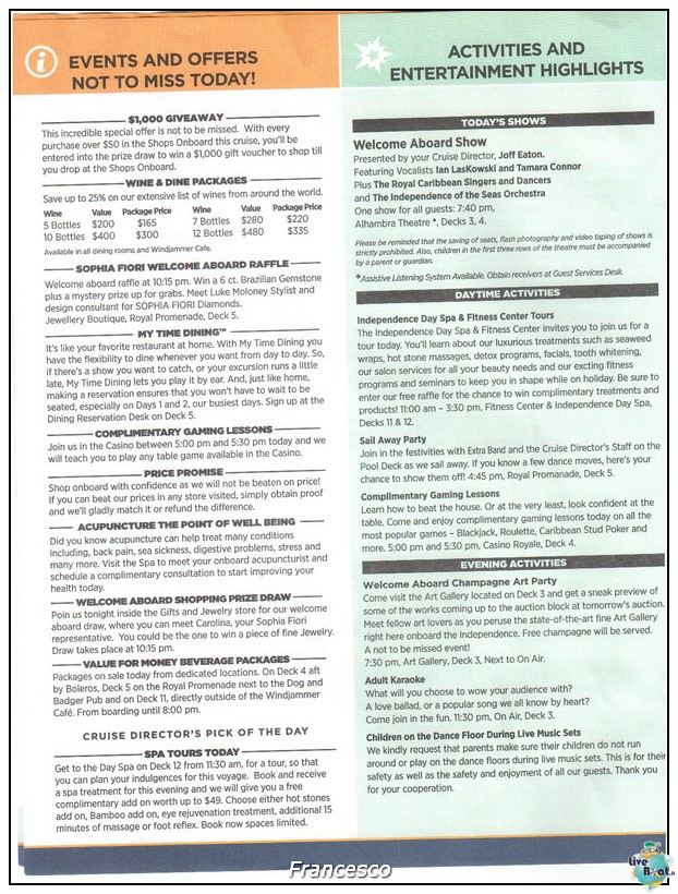 2014/05/17 Southampton -Independence OTS-8 GG. Norvegia  Fio-compass2-jpg