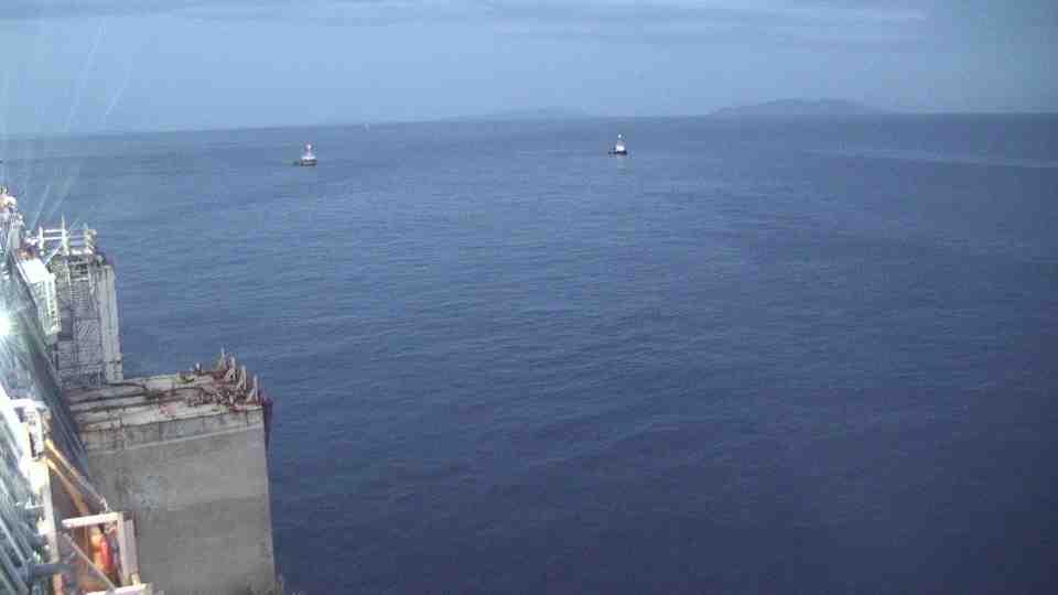 Liveboat in Diretta dall'Isola del Giglio e arrivo a Genova-prima-notte-navigazione-costa-concordia-3-jpg