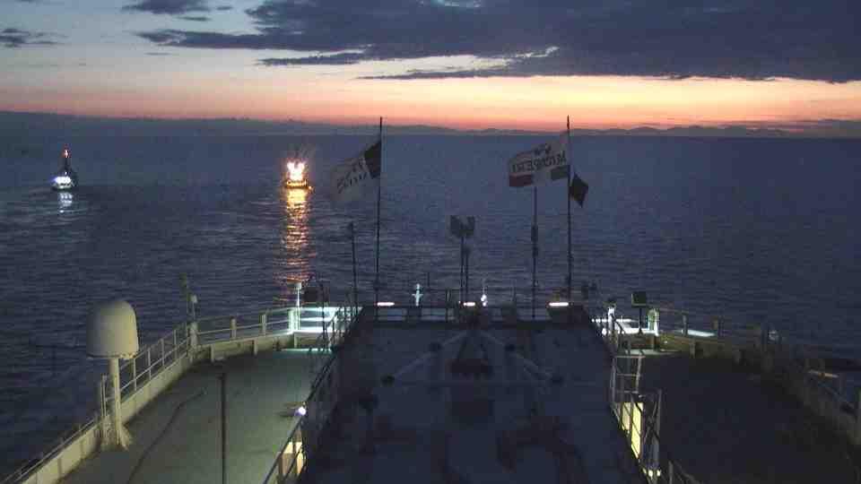 Liveboat in Diretta dall'Isola del Giglio e arrivo a Genova-prima-notte-navigazione-costa-concordia-6-jpg