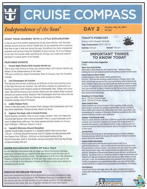 2014/05/17 Southampton -Independence OTS-8 GG. Norvegia  Fio-at-sea-jpg