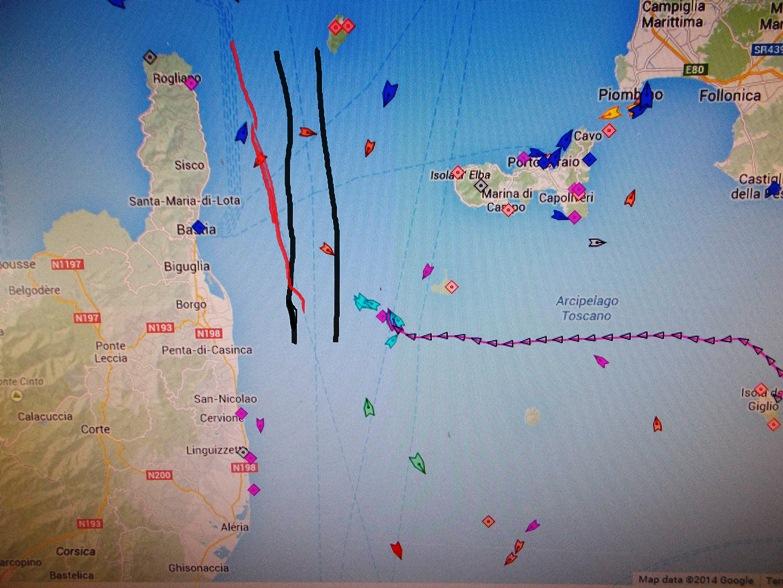 Liveboat in Diretta dall'Isola del Giglio e arrivo a Genova-dscn4740-jpg