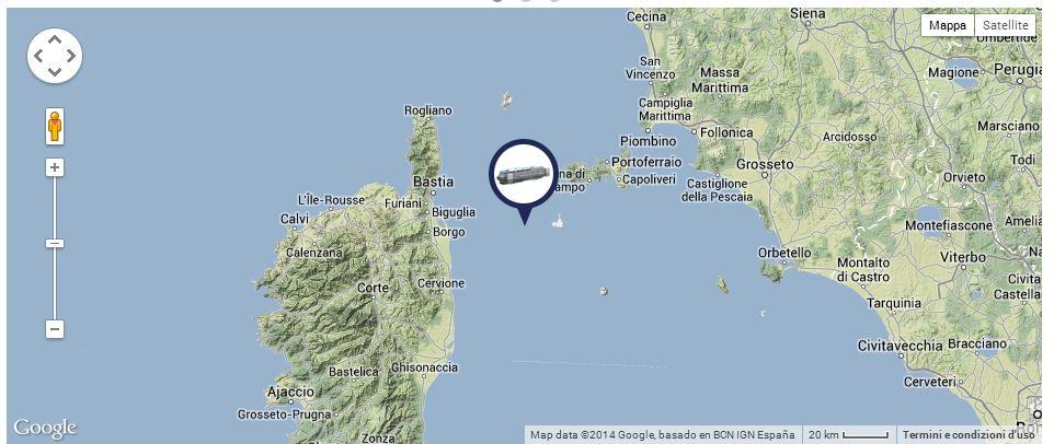 Liveboat in Diretta dall'Isola del Giglio e arrivo a Genova-giorno-navigazione-concordia-mattina-4-jpg