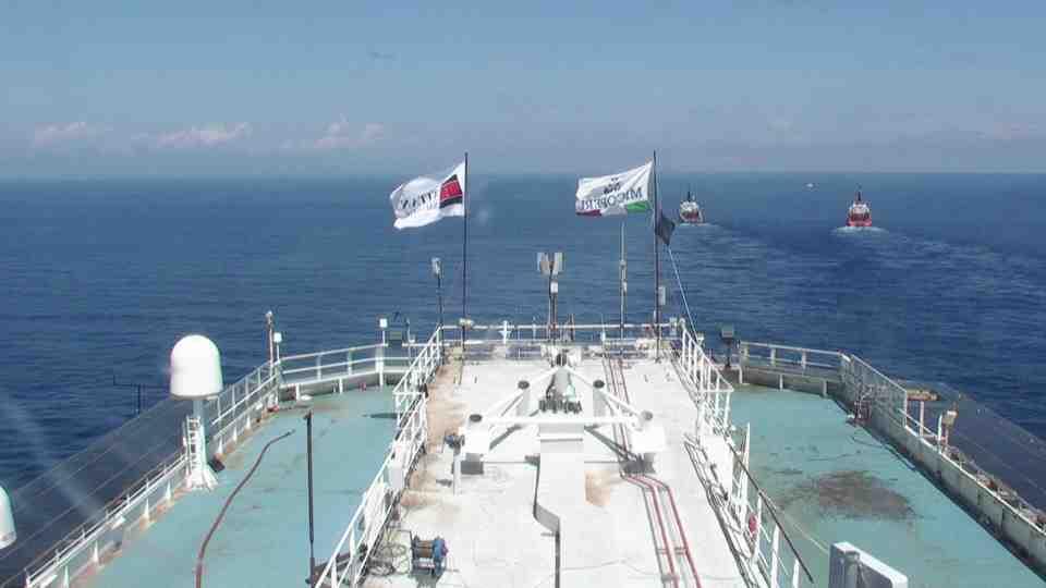 Liveboat in Diretta dall'Isola del Giglio e arrivo a Genova-giorno-navigazione-concordia-mattina-1-jpg