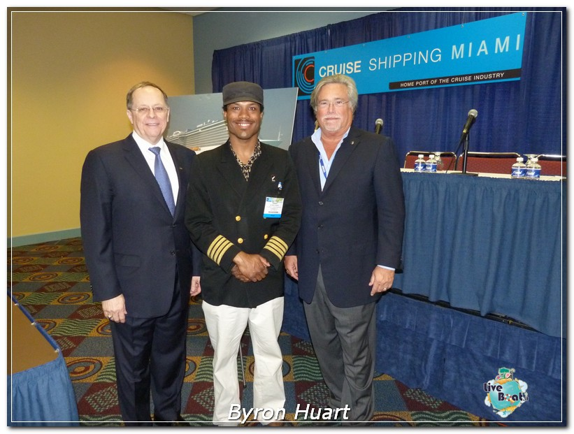 Cruise Shipping Miami 2012 Byron Huart inviato di liveboat.it con Micky Arison