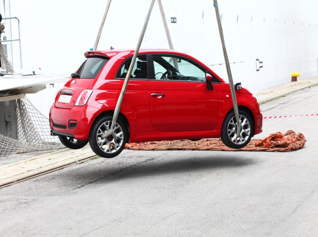 Fiat 500 Salpa su MSC Divina (3)