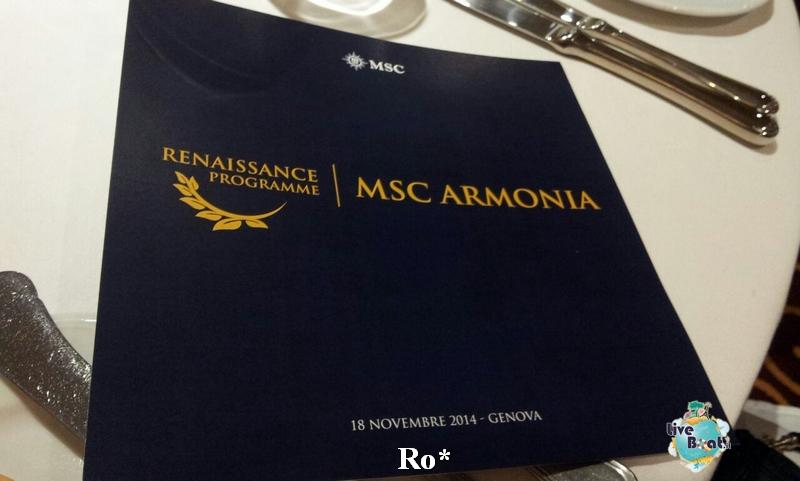 1 Foto # MSC Armonia # evento presentazione # Diretta Liveboat Crociere #