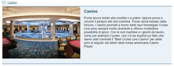 Casino NCL Escape