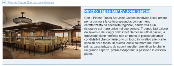 Pincho Tapas Bar by Jose Garces