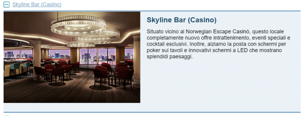 Skyline Bar (Casino) Escape