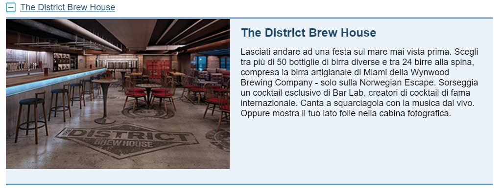 The District Brew House